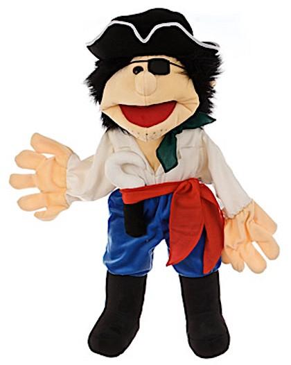 Handpuppe Pirat von den Living Puppets