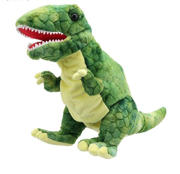 handpuppe baby dinosaurier trex von the puppet company