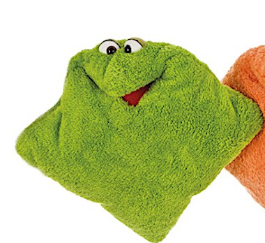 Living Puppets Kissen grünes Wunschtraumkuschelmuschelkissen