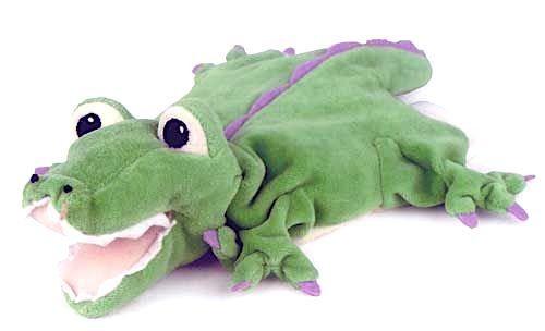 Handpuppe Krokodil von Egmont Toys