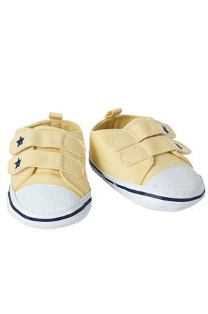 Living Puppets Schuhe gelb mit Sternchen für die 65cm Puppen