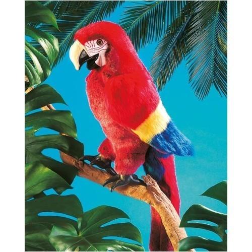 Folkmanis Handpuppe Papagei - Ara