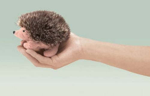 Folkmanis Fingerpuppe Mini Igel