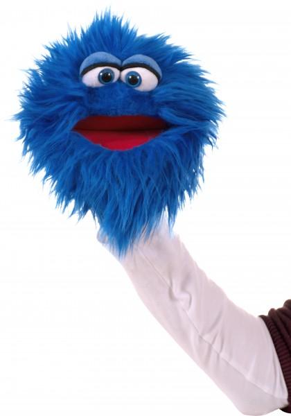 Living Puppets Handpuppe blaues Plappermaul Quackelfritze