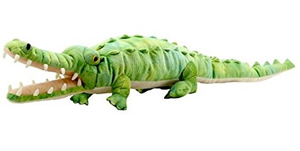 Handpuppe großes Krokodil von The Puppet Company