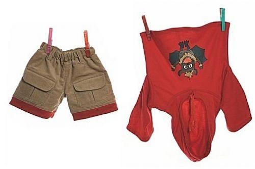 Living Puppets Kleidungsset W584 für die 65cm Puppen