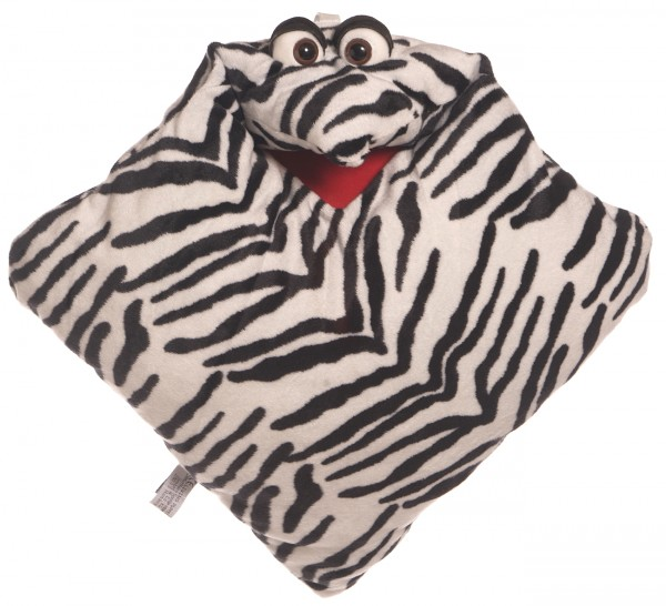Living Puppets Kissen Zebra - Wunschtraumkuschelmuschelkissen