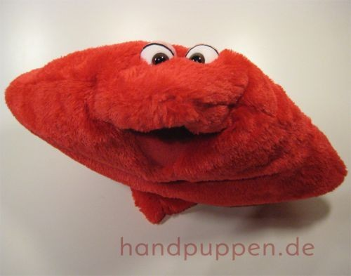 Living Puppets Kissen rotes Wunschtraumkuschelmuschelkissen