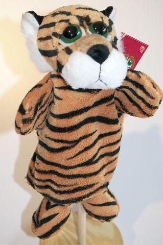 Handpuppe Tiger Rumble von Suki