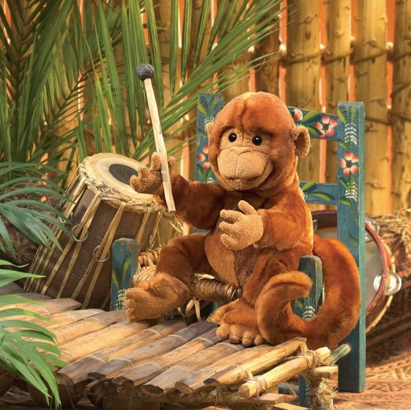 Folkmanis Handpuppe klassischer Affe