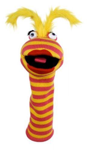 Socken Handschuhpuppe Lipstick von The Puppet Company