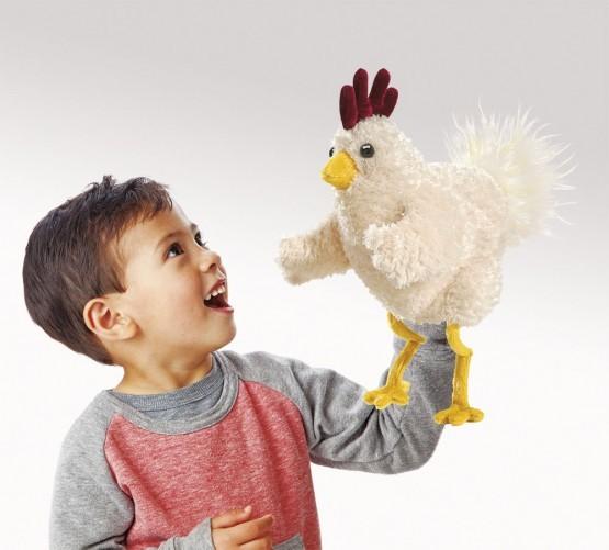 Folkmanis Handpuppe lustiges Huhn