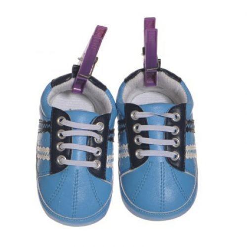 Living Puppets Schuhe blau für die 65cm Puppen