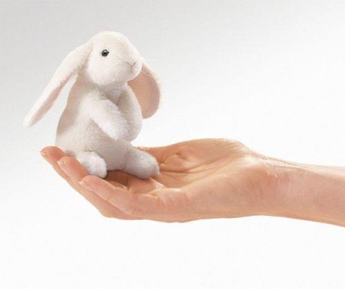Folkmanis Fingerpuppe Mini Hängeohrhase