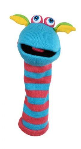 Socken Handschuhpuppe Scorch von The Puppet Company