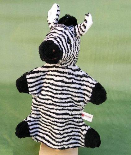 Handpuppe Zebra von Kallisto