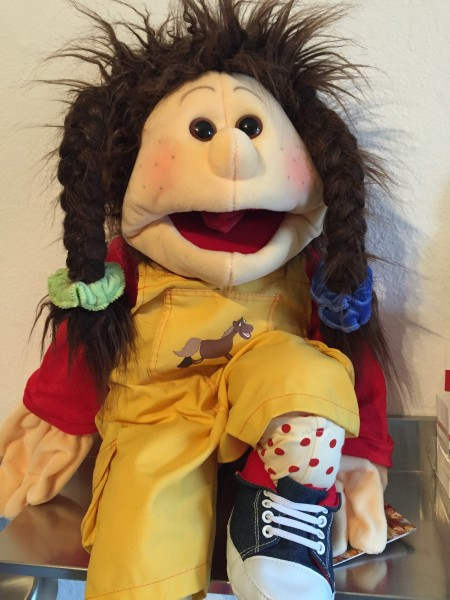 Living Puppets Handpuppe Lou 65cm