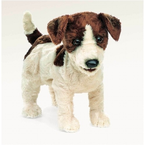 Folkmanis Handpuppe Jack Russel Terrier