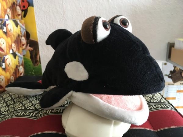 Living Puppets Handpuppe Fontäne der Orca
