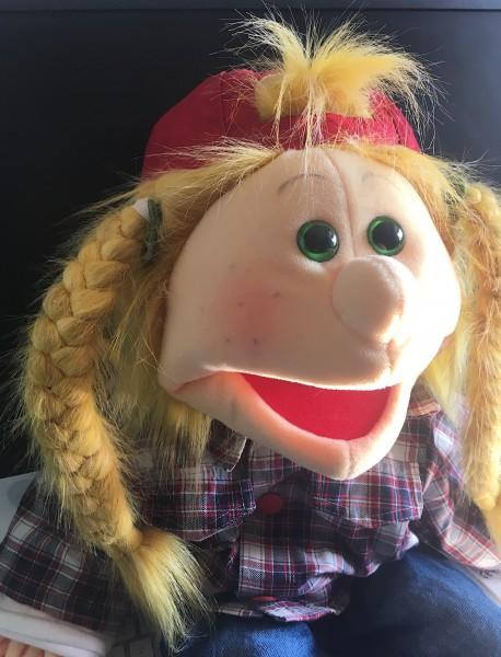 Living Puppets Handpuppe Katie Kickflip W768 65cm