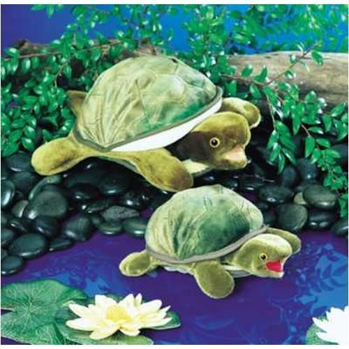 Folkmanis Handpuppe Kleine Schildkröte