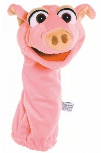 Living Puppets Handpuppe Quasselwurm Schweinchen Ebi