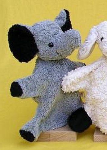 Handpuppe Elefant von Kallisto