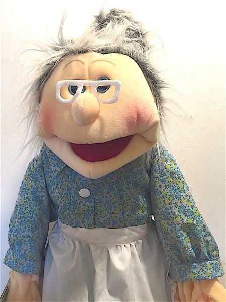 Living Puppets Handpuppe Großmutter 65cm