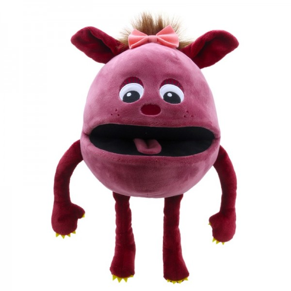 Baby Monster Himbeere von The Puppet Company