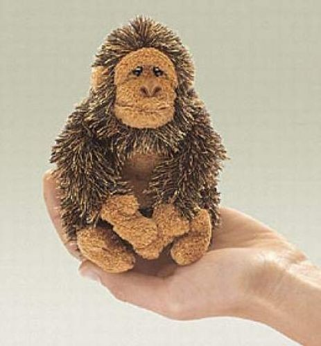 Folkmanis Fingerpuppe Mini Gorilla