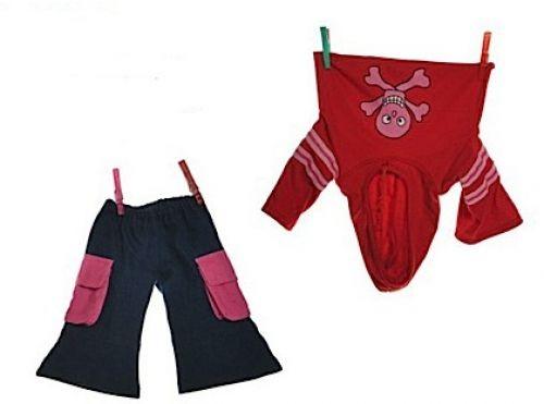 Living Puppets Kleidungsset W582 für die 65cm Puppen