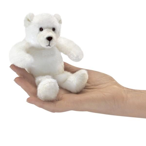 Fingerpuppe Folkmanis Eisbär polar bear fingerpuppet