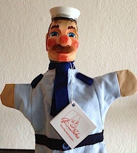 GiScha Verkehrspolizist blau