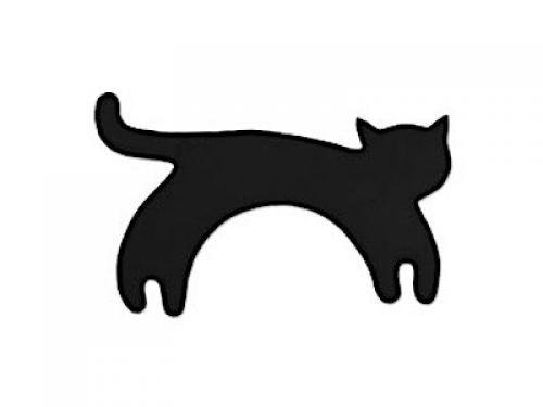 Leschi Wärmekissen Die Katze Minina, stehend, groß, schwarz
