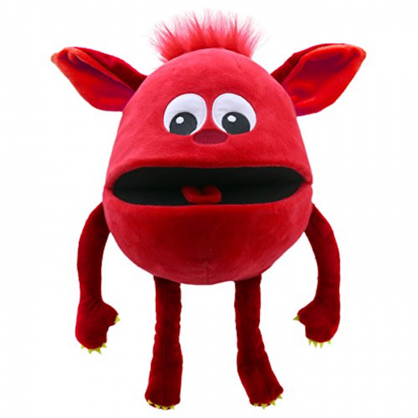 Baby Monster rot von The Puppet Company
