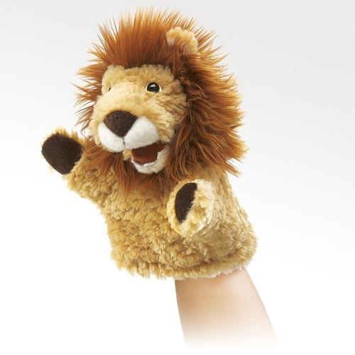 Folkmanis Handpuppe kleiner Löwe