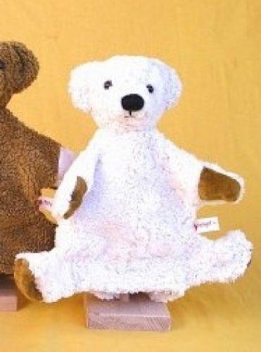 Handpuppe weißer Bär von Kallisto