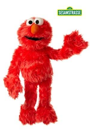 Living Puppets Handpuppe Elmo 70cm