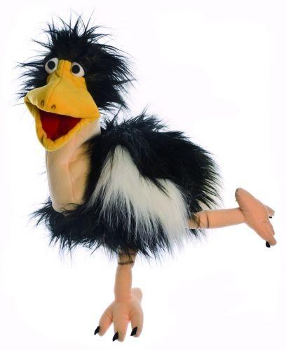 Living Puppets Handpuppe Rosi der Strauss