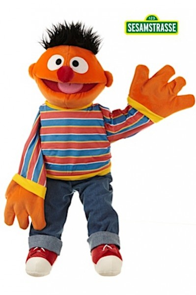 Living Puppets Handpuppe Ernie 65cm
