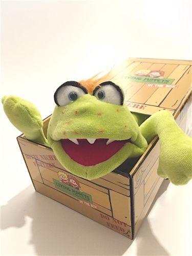 Living Puppets Handpuppe Captain Green in der Box