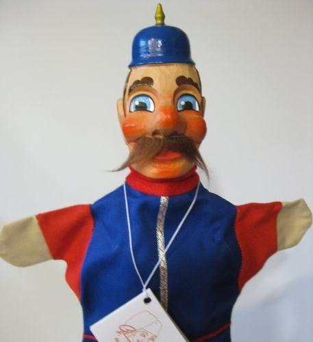 GiScha Kasperlefigur Polizist 35cm