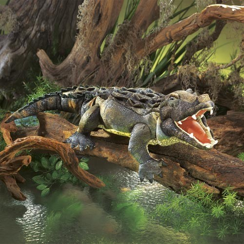 Folkmanis Handpuppe Amerikanischer Alligator