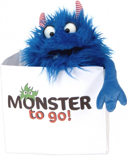 Living Puppets Handpuppe Monster Schmackes W778