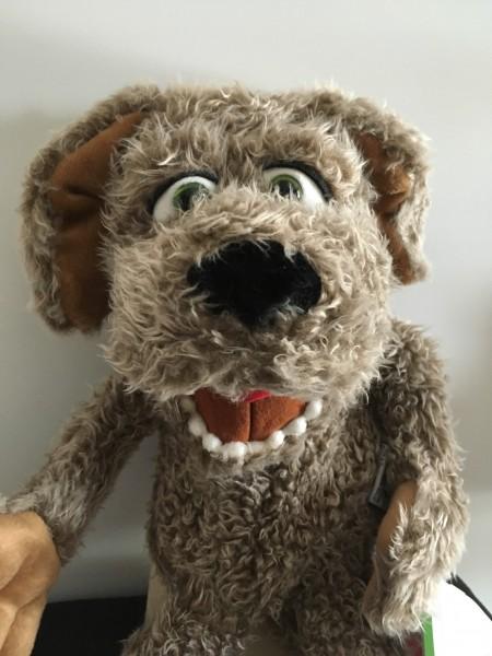 Hund Locke Handpuppe Living Puppets
