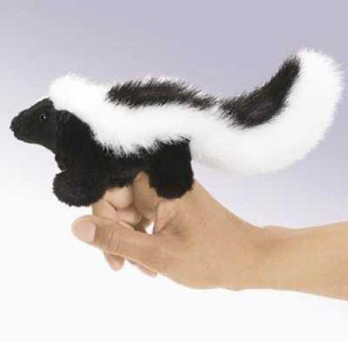 Folkmanis Fingerpuppe Mini Stinktier
