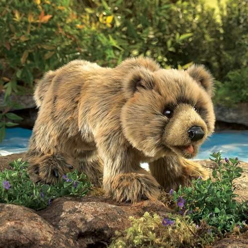 Folkmanis Handpuppe Grizzlybär