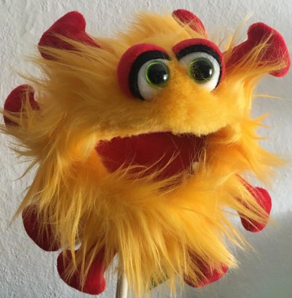 Living Puppets Gisa Grippchen Handpuppe Plappermaul