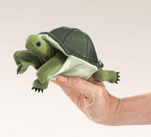 Folkmanis Fingerpuppe Mini Schildkröte