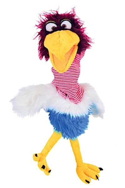 Living Puppets Handpuppe Vogel Papperlapapp Royratz